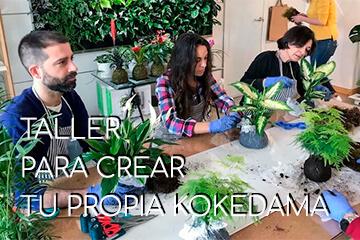 GREENWORKS Taller de Kokedamas