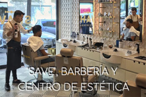 SAVE, barberia y centro de estetica para hombre