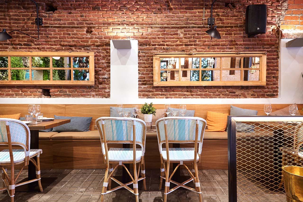 El patio del fisg n restaurante cocina internacional en for Cocina internacional madrid