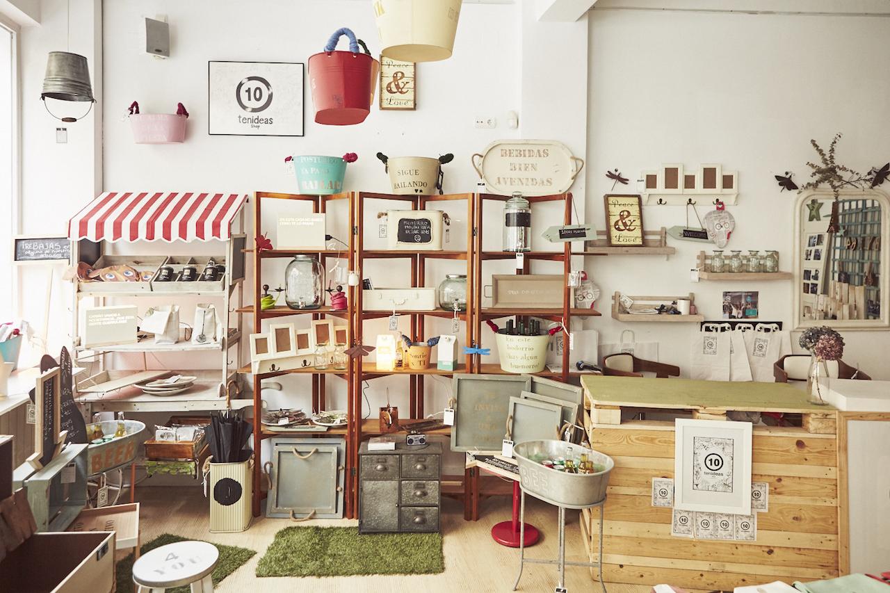 La palette tienda de joyas y regalos en prosperidad for Regalos originales decoracion