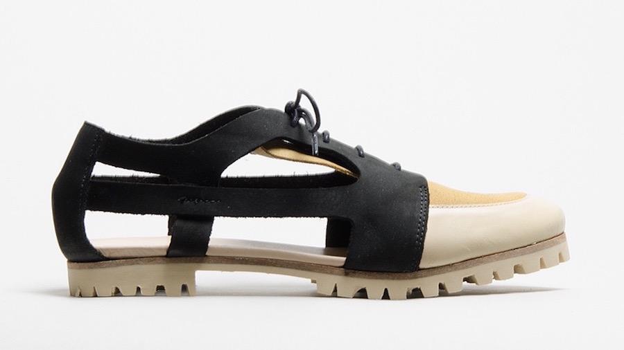 deux souliers zapato abierto