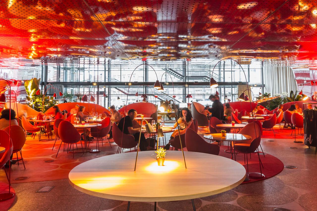 Nubel Restaurante En El Museo Reina Sofía