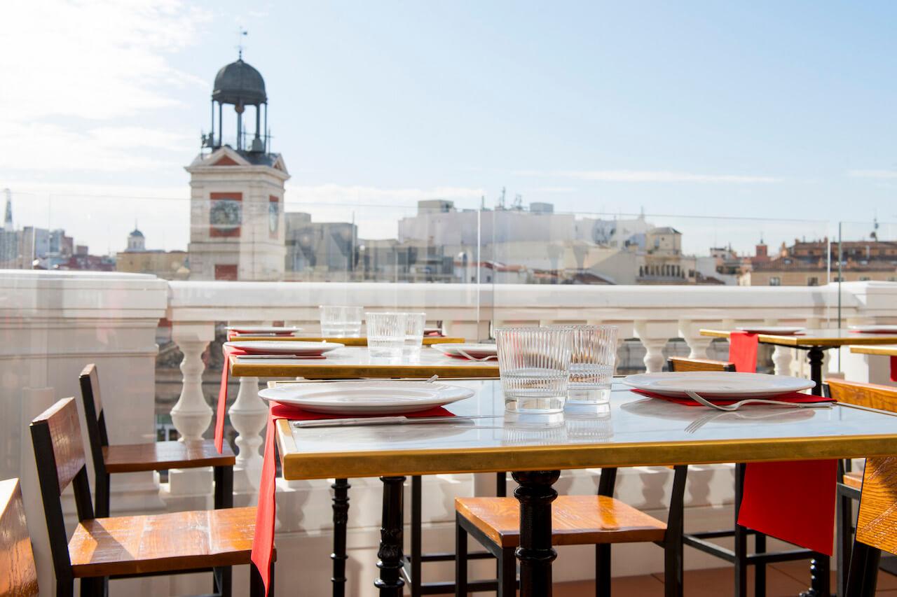 Puertalsol by chicote taberna y restaurante en sol for El corte ingles madrid sol