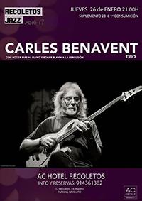 Carles Benavent_Recoletos Jazz_agenda