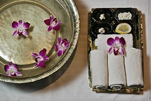 The Organic Spa_bandeja flores