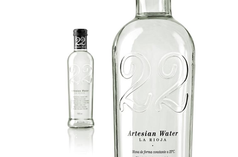 22 Artesian Water | Agua mineral procedente de un acuífero en La Rioja
