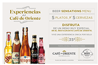 Beer Sensations Menu