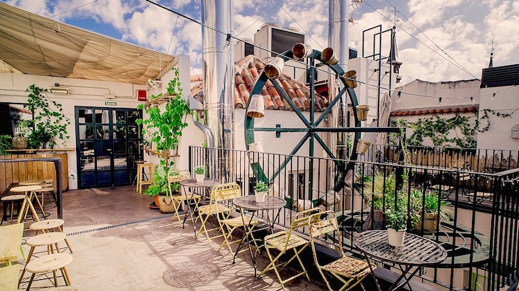 Terraza Molino The Hat Madrid