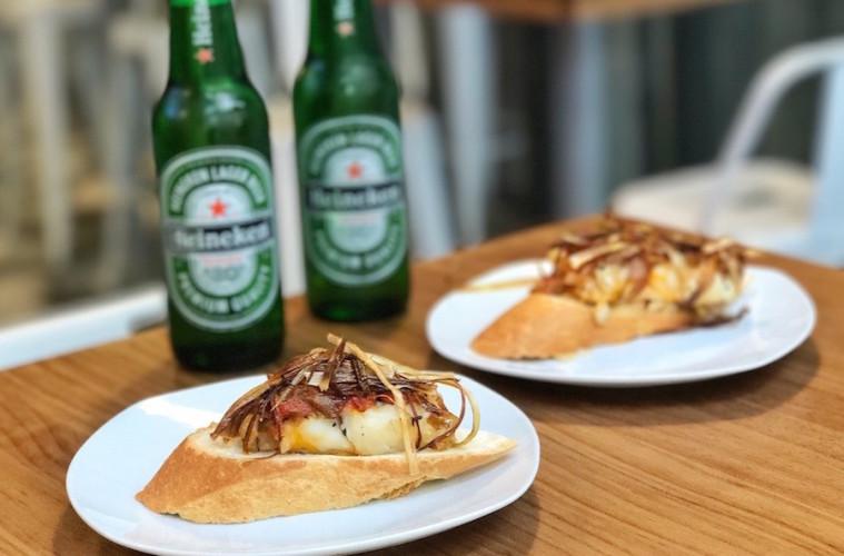 Tapas y cerveza en Ponzano Street Festival by Heineken