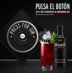 Brockmans Press for Gin Madrid