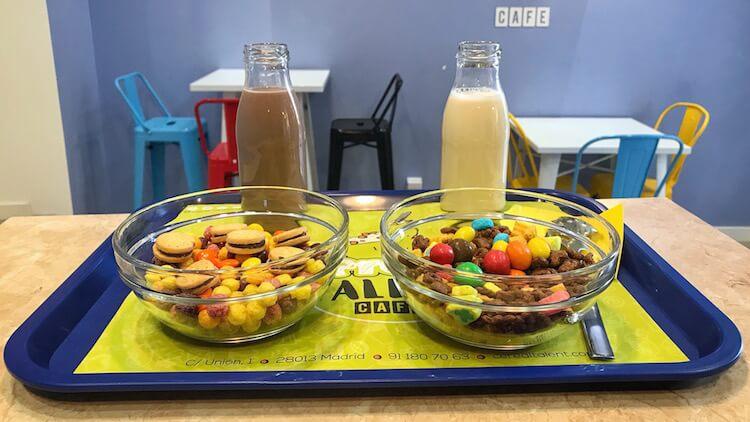 Bares de cereales para volver a desayunar como niño en Madrid