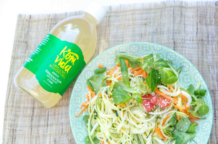 Komvida, la nueva bebida de kombucha, saludable y ecológica
