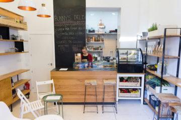 Bunny's Deli tienda restaurante vegano en Chueca