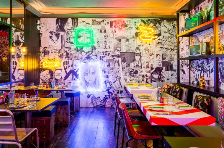 Kamikaze, restaurante de cocina asiática en Alonso Martínez