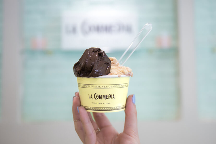 La Commedia Helado de chocolate
