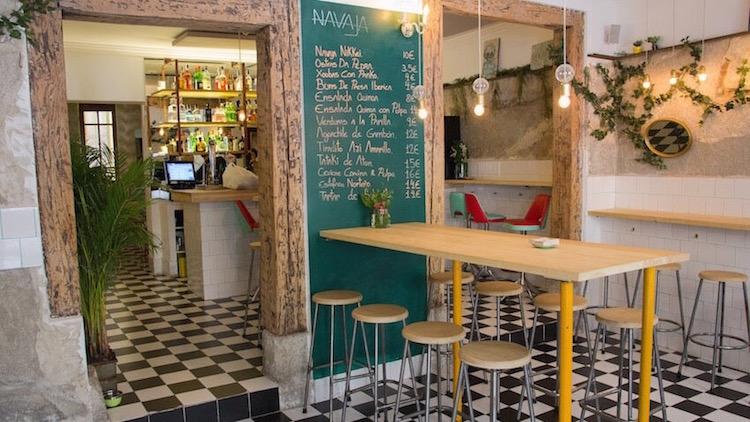 Navaja restaurante gallego fusión en Madrid