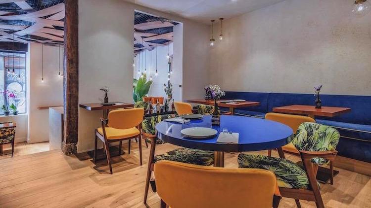Machete restaurante gallego fusión en Madrid