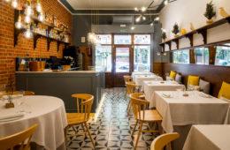 Alpe, restaurante de cocina de autor en el barrio de Chamberí
