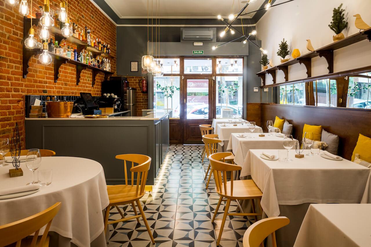 Alpe restaurante de cocina de autor en el barrio de chamber - Cocina de autor ...
