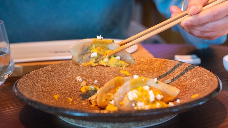 UMO, restaurante japonés especializado en robata en Castellana