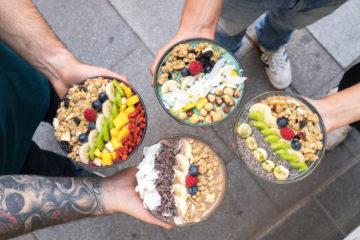 Frutas Prohibidas Madrid bols de yogur y frutas