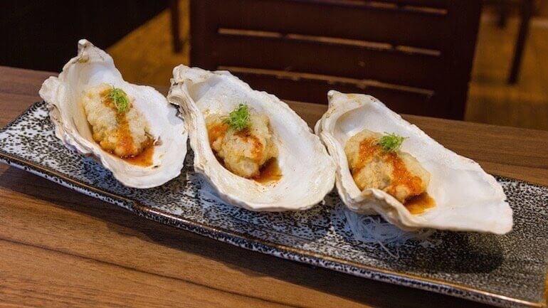 IKIGAI tempura de ostras