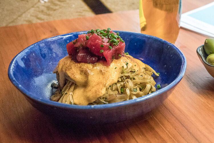 Noodles con atún rojo, el platazo de Toga