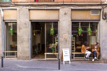 Bakery de día y pizzería de noche en Lavapiés