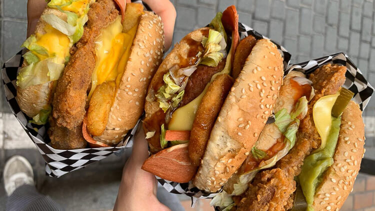 Thunder Vegan Food Hamburguesas veganas