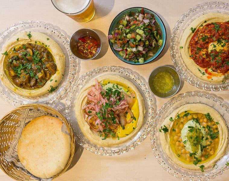 BAR GANZO hummus y otras recetas típicas de Tel Aviv