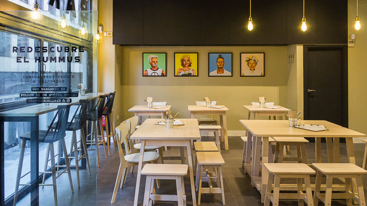 BAR GANZO recetas típicas de Tel Aviv