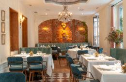 Le Bistroman salón comedor