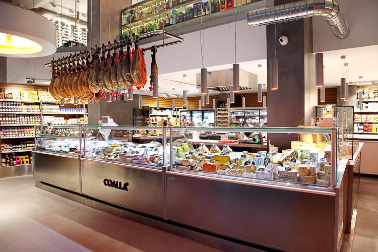Coalla Madrid, tienda gourmet y wine bar en Serrano