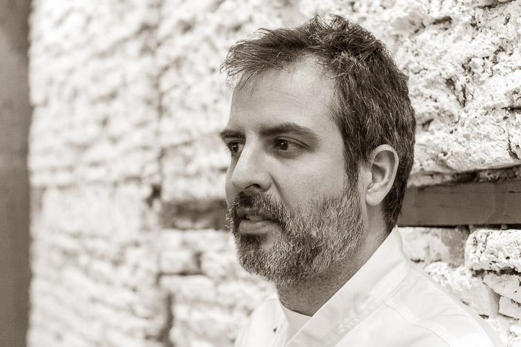 Nacho Sánchez, abanderado de la cocina vegetariana