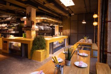 Limbo Player Two, un moderno asador de carbón junto al Bernabéu
